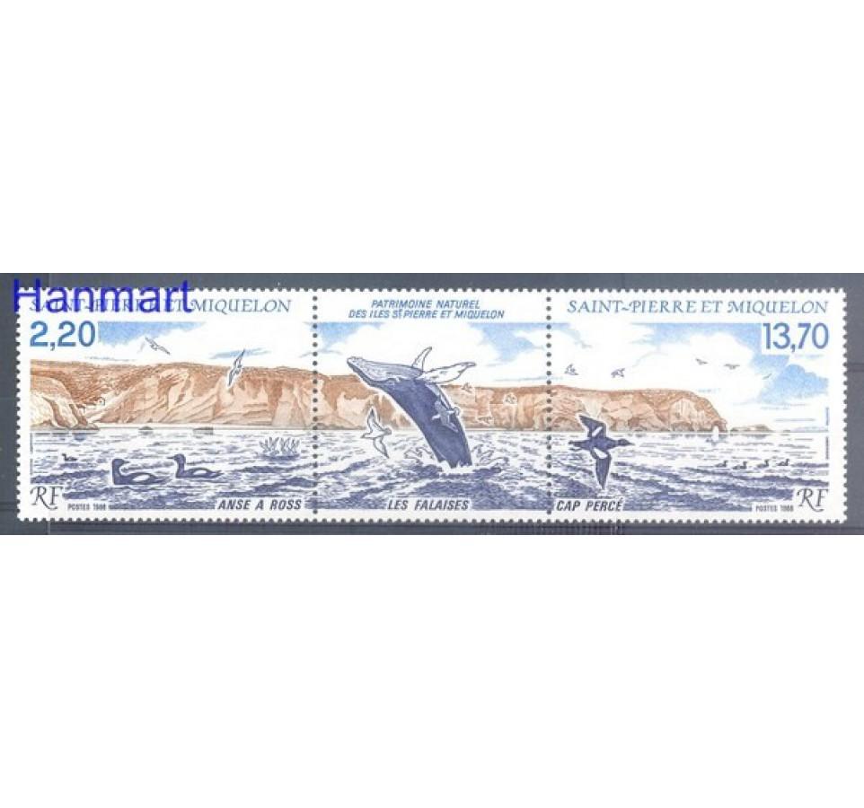Saint-Pierre i Miquelon 1988 Mi 566-567 Czyste **