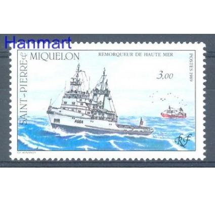 Znaczek Saint-Pierre i Miquelon 1989 Mi 583 Czyste **