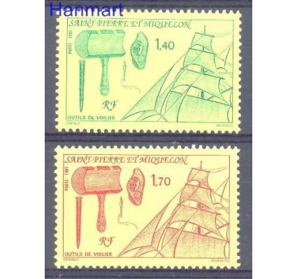Znaczek Saint-Pierre i Miquelon 1991 Mi 609-610 Czyste **