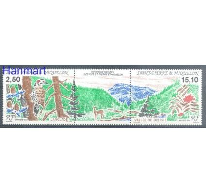 Znaczek Saint-Pierre i Miquelon 1992 Mi 643-644 Czyste **