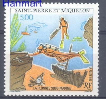Znaczek Saint-Pierre i Miquelon 1993 Mi 650 Czyste **