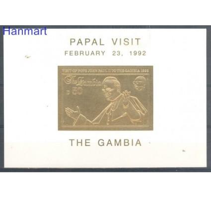 Znaczek Gambia 1992 Mi bl 173 Czyste **