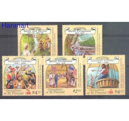 Znaczek Grenadines of St Vincent 1988 Mi 587-591 Czyste **
