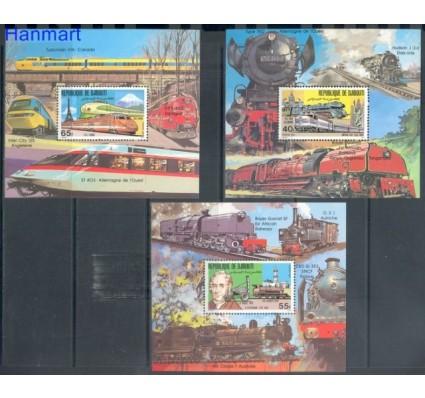 Znaczek Dżibuti 1981 Mi bl 36-38 Czyste **