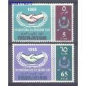 Federacja Arabii Południowej 1965 Mi 17-18 Czyste **