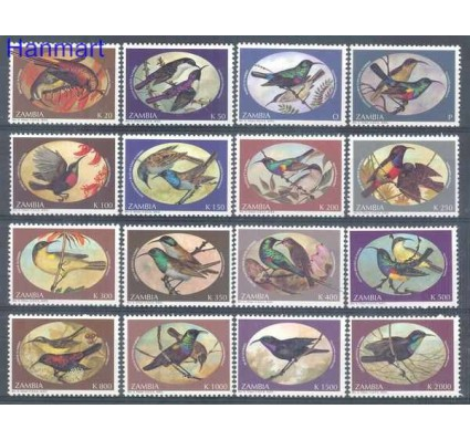 Znaczek Zambia 1994 Mi 625-640 Czyste **