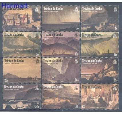 Znaczek Tristan da Cunha 1988 Mi 456-467 Czyste **