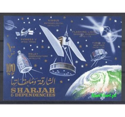 Sharjah 1964 Mi bl 4 Czyste **