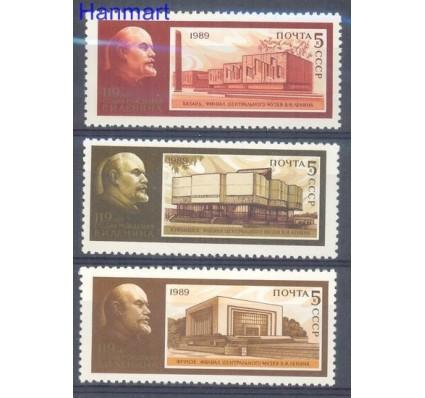 Znaczek ZSRR 1989 Mi 5944-5946 Czyste **