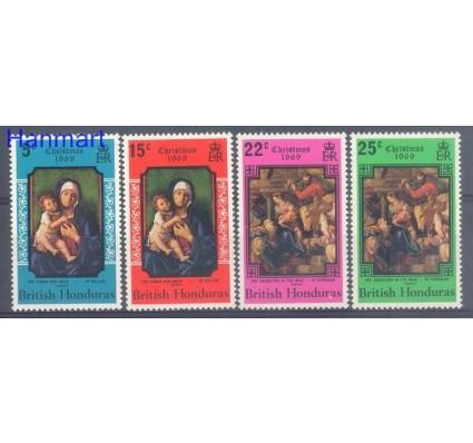 Znaczek Honduras Brytyjski 1969 Mi 232-235 Czyste **