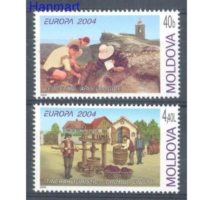 Znaczek Mołdawia 2004 Mi 487-488 Czyste **