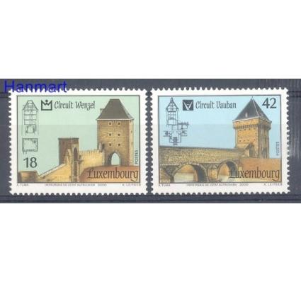 Luksemburg 2000 Mi 1512-1513 Czyste **