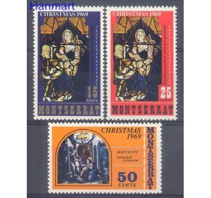 Znaczek Montserrat 1969 Mi 223-225 Czyste **