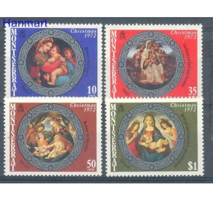 Znaczek Montserrat 1972 Mi 281-284 Czyste **