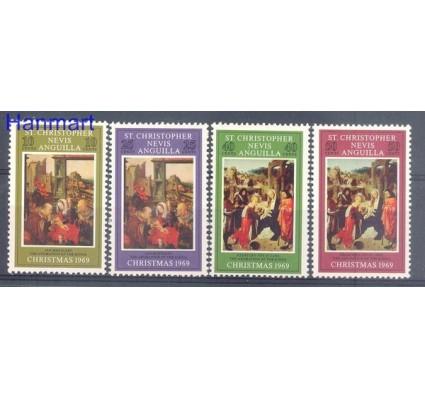 Znaczek St. Christopher Nevis Anguilla 1969 Mi 195-198 Czyste **