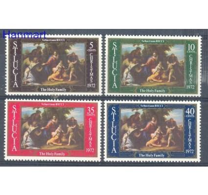 Znaczek Saint Lucia 1972 Mi 316-319 Czyste **