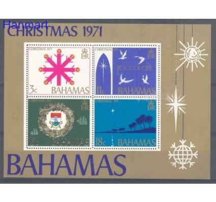 Znaczek Bahamy 1971 Mi bl 4 Czyste **
