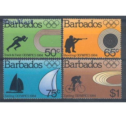 Znaczek Barbados 1984 Mi 600-603 Czyste **