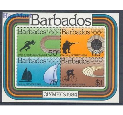 Znaczek Barbados 1984 Mi bl 17 Czyste **