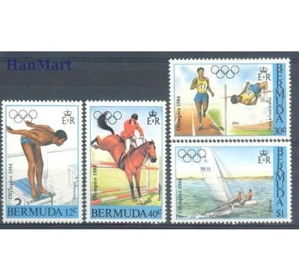 Znaczek Bermudy 1984 Mi 442-445 Czyste **