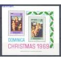 Dominika 1969 Mi bl 1 Czyste **