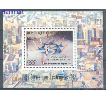 Znaczek Republika Środkowoafrykańska 1984 Mi bl 275 Czyste **