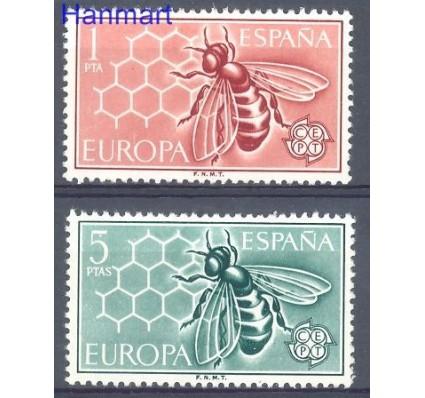 Znaczek Hiszpania 1962 Mi 1340-1341 Czyste **
