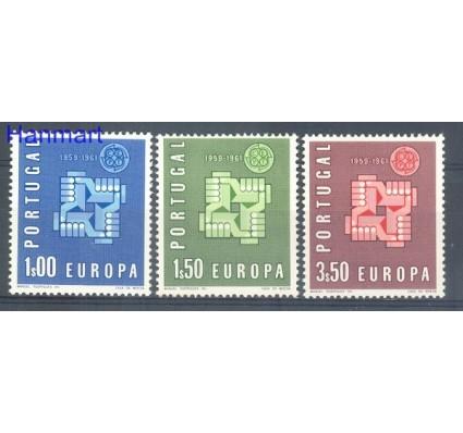 Znaczek Portugalia 1961 Mi 907-909 Czyste **