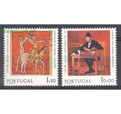 Znaczek Portugalia 1975 Mi 1281-1282x Czyste **