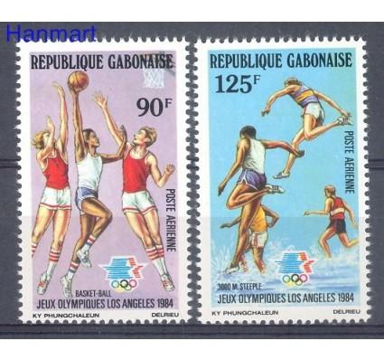 Znaczek Gabon 1984 Mi 904-905 Czyste **