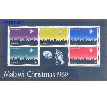 Znaczek Malawi 1969 Mi bl 16 Czyste **