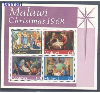 Malawi 1968 Mi bl 12 Czyste **