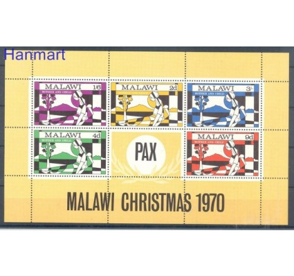 Znaczek Malawi 1970 Mi bl 20 Czyste **