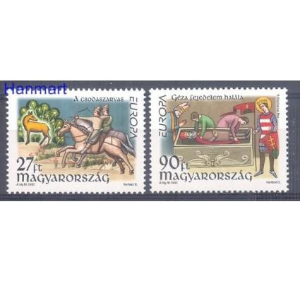Znaczek Węgry 1997 Mi 4455-4456 Czyste **