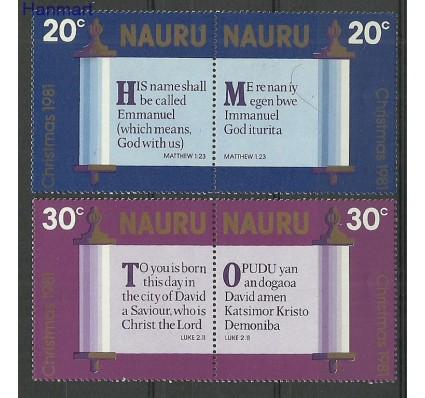 Znaczek Nauru 1981 Mi 233-236 Czyste **