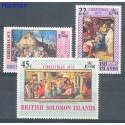 Wyspy Salomona 1973 Mi 248-250 Czyste **