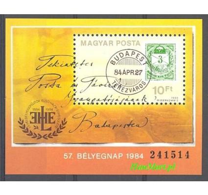 Znaczek Węgry 1984 Mi bl 172 Czyste **