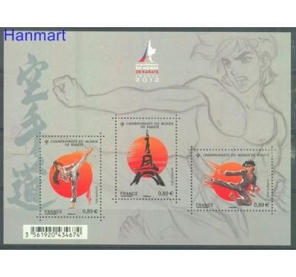 Znaczek Francja 2012 Mi bl 204 Czyste **