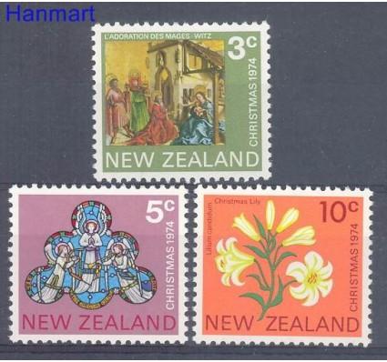 Znaczek Nowa Zelandia 1974 Mi 640-642 Czyste **