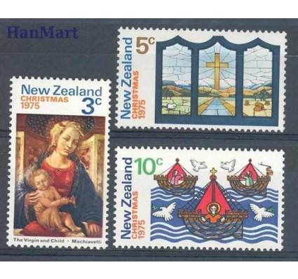 Znaczek Nowa Zelandia 1975 Mi 664-666 Czyste **