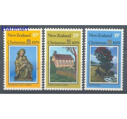 Znaczek Nowa Zelandia 1979 Mi 779-781 Czyste **