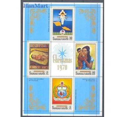 Znaczek Samoa i Sisifo 1970 Mi bl 2 Czyste **