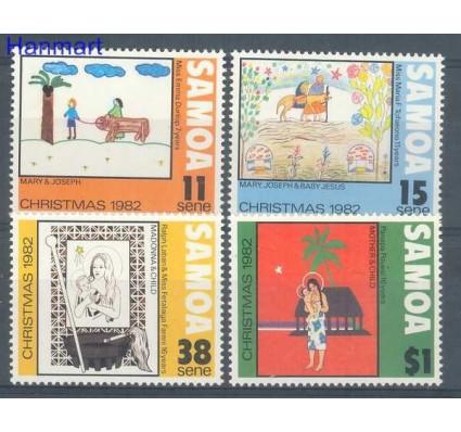 Znaczek Samoa 1982 Mi 490-493 Czyste **