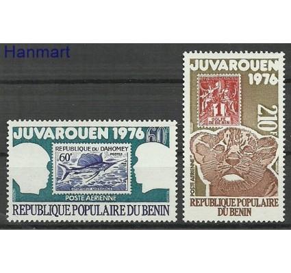 Znaczek Benin 1976 Mi 59-60 Czyste **