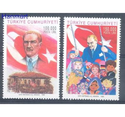Znaczek Turcja 1998 Mi 3148-3149 Czyste **
