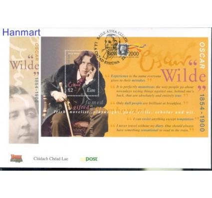 Znaczek Irlandia 2000 Mi bl 35I FDC