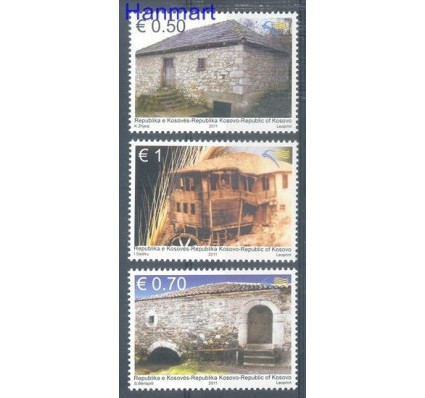 Znaczek Kosowo 2011 Mi 201-203 Czyste **