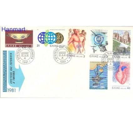 Znaczek Grecja 1981 Mi 1449-1455 FDC