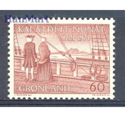 Znaczek Grenlandia 1971 Mi 77 Czyste **