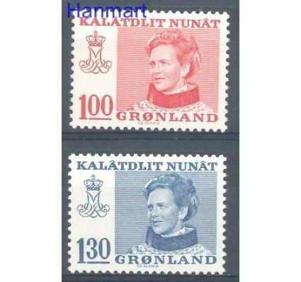 Znaczek Grenlandia 1977 Mi 101-102 Czyste **